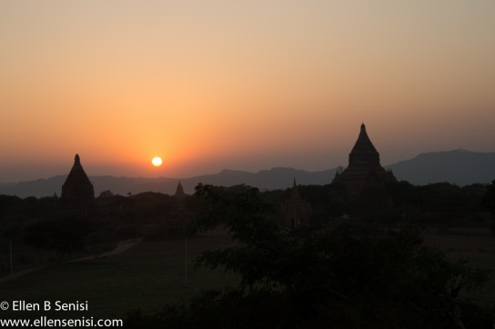 Bagan, Burma, Myanmar. Bagan Archeological Zone. Law Kao Shoung Temple.